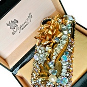 Elegantly Untamed One-Of-A-Kind Swarovski Crystal iPhone Case - would be an amazing Valentine's Day Gift