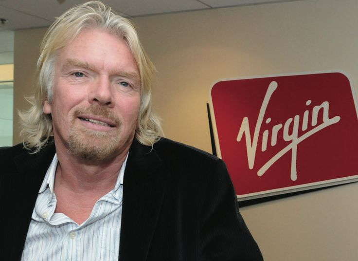 Richard Branson at Virgin Galactic Conference, London