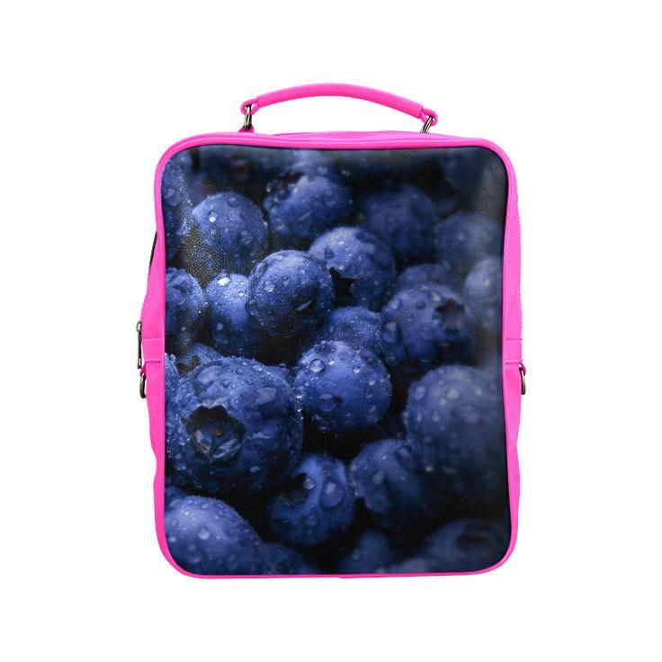 Blueberries Square Backpack. #FREEShipping #artsadd #lbackpacks #fruits