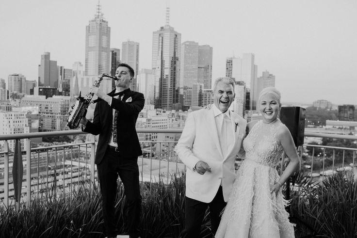 Deborah & Tony   Epic wedding The Langham Melbourne