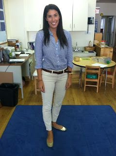 Teach With Style: A Teacher's Account Of Her Year In Fashion: Last Day of Long Hair, But New JCrew Cords!