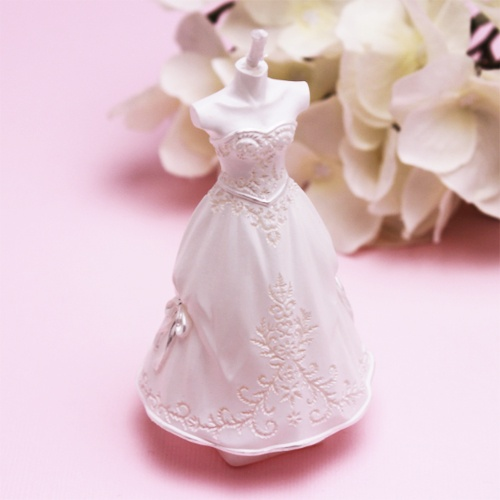 Wedding Gown Candle Favor