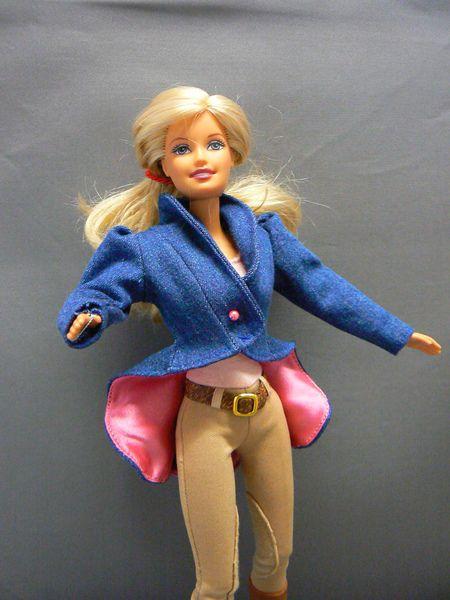 Schößchen Jacke für Mode Puppen von Fairytaledreams auf DaWanda.com