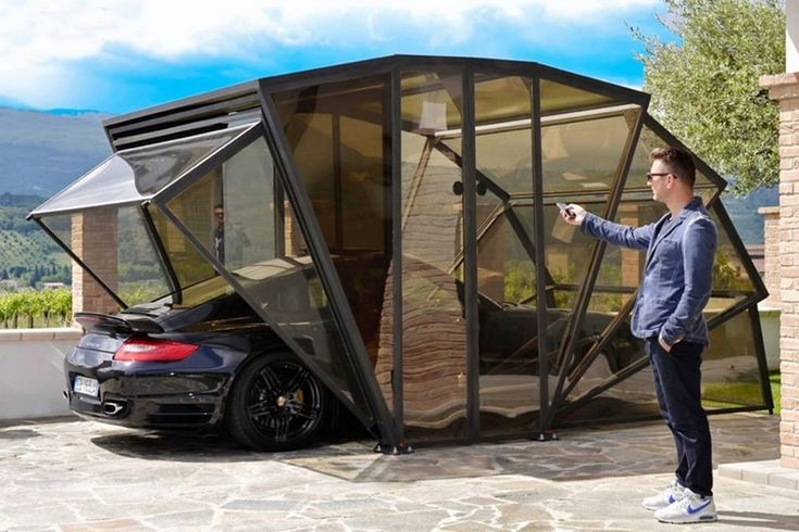 Use GazeBox To Add An Enclosed Carport In Your Driveway