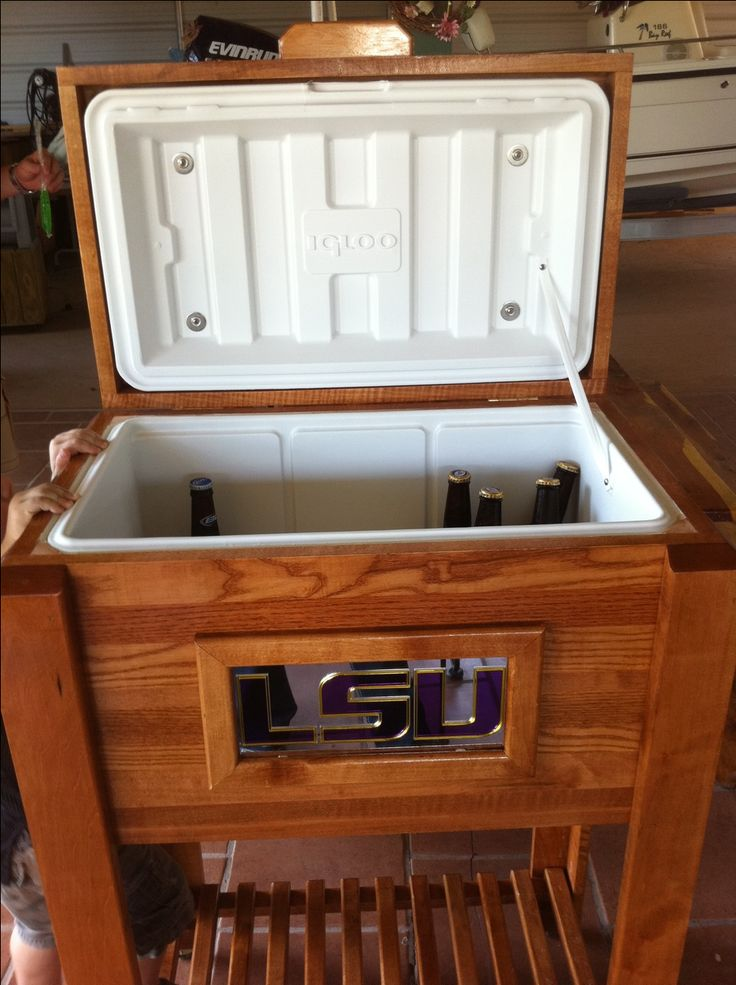 12 best images about products i love on pinterest for Wooden beer cooler plans