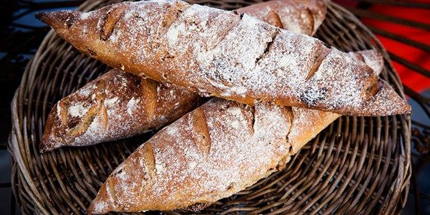 Try this Fig, Walnut and Fennel Seed Baguettes recipe by Chef Maggie Beer. This recipe is from the show The Great Australian Bake Off.