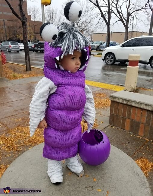 Briana: This is my daughter Trinity she is 21 months old here. She has always had really long hair and been told she looks like the little girl from Monsters Inc....