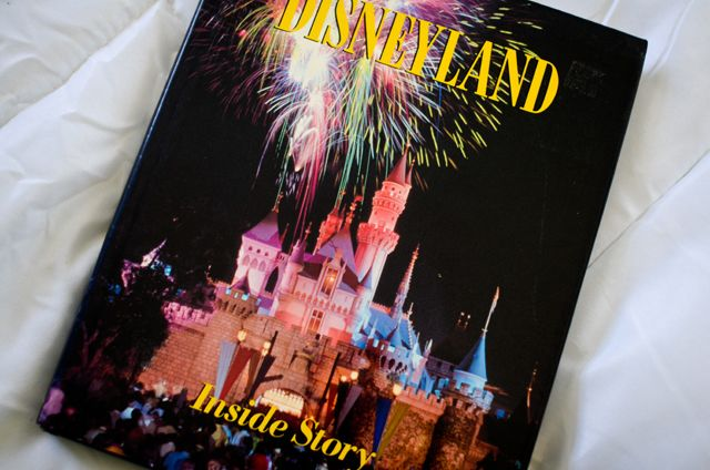 Page with listing of the best books to learn about Disneyland and Walt Disney World!