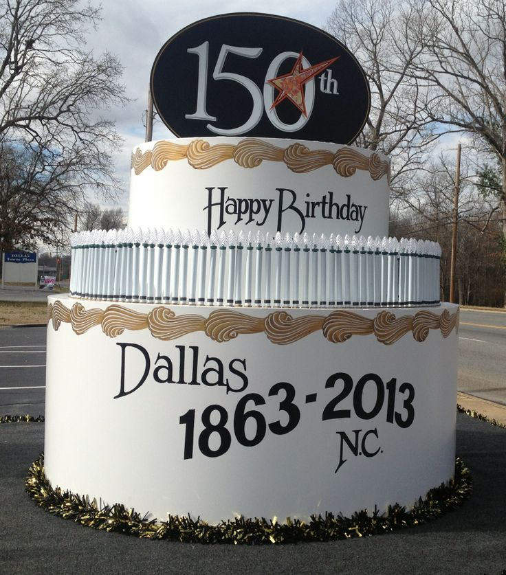Wouldn't it be fun to have giant birthday cake like this one for Lee's Summit's 150?