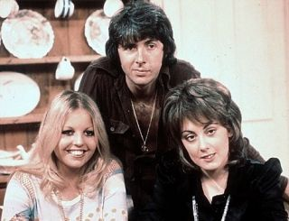 'Man About The House' (1973 to 1976), starring Richard O'Sullivan, Paula Wilcox, Sally Thomsett, Yootha Joyce & Brian Murphy