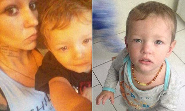 Mason Jet Lee's mother sent photo of her toddler 'face down in vomit'