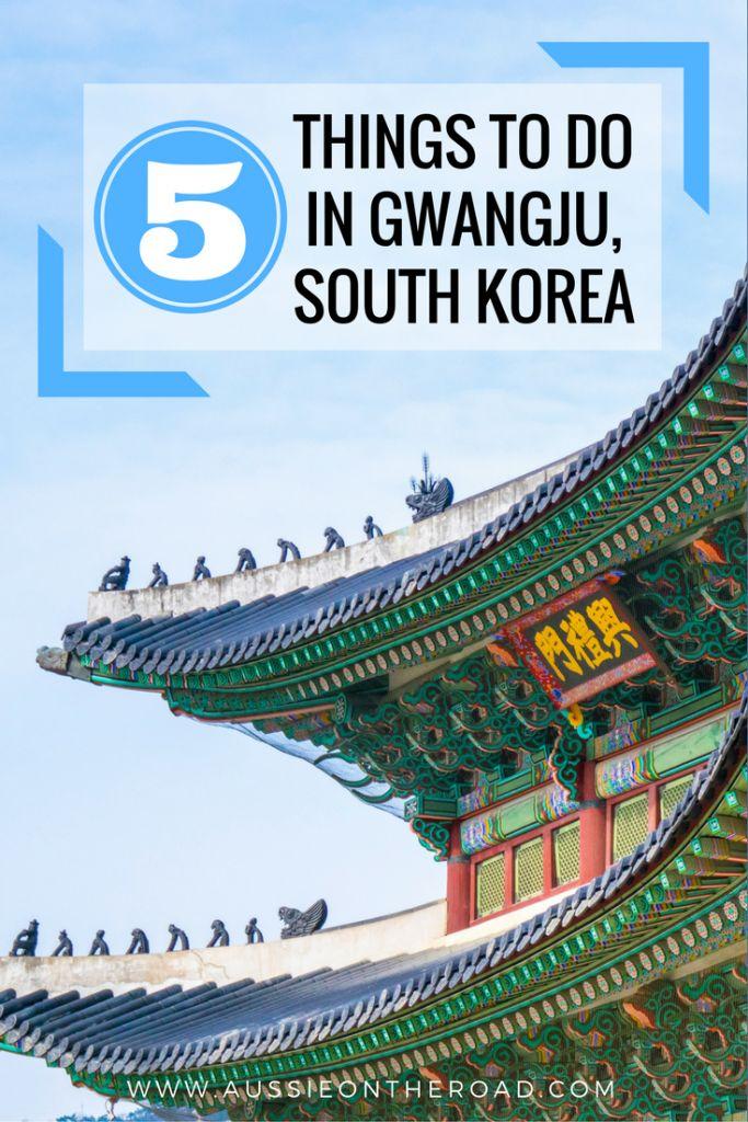 Five Things to do in Gwangju, South Korea