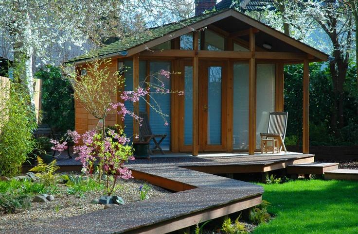 13 best images about garden ideas on pinterest for Best garden office buildings