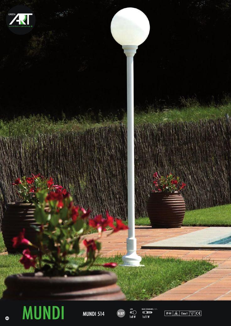 Ms de 25 ideas increbles sobre Luminarias para exterior en Pinterest  Iluminacin exterior Diseos de bardas y Bardas para casas