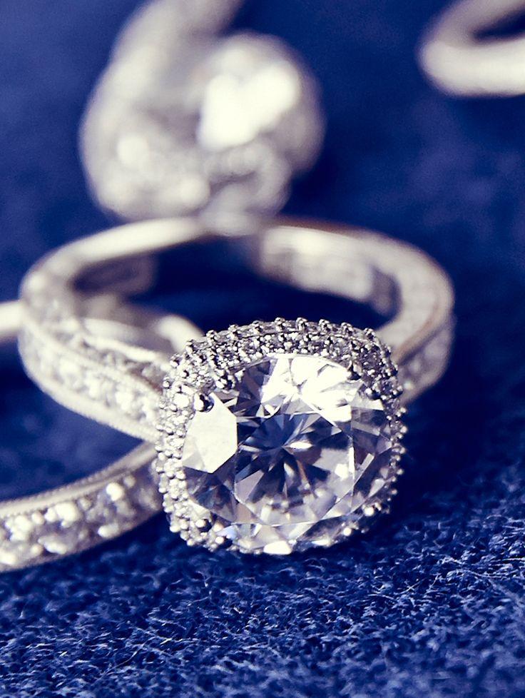 Tacori's Most beloved diamond engagement ring collection, Dantela.