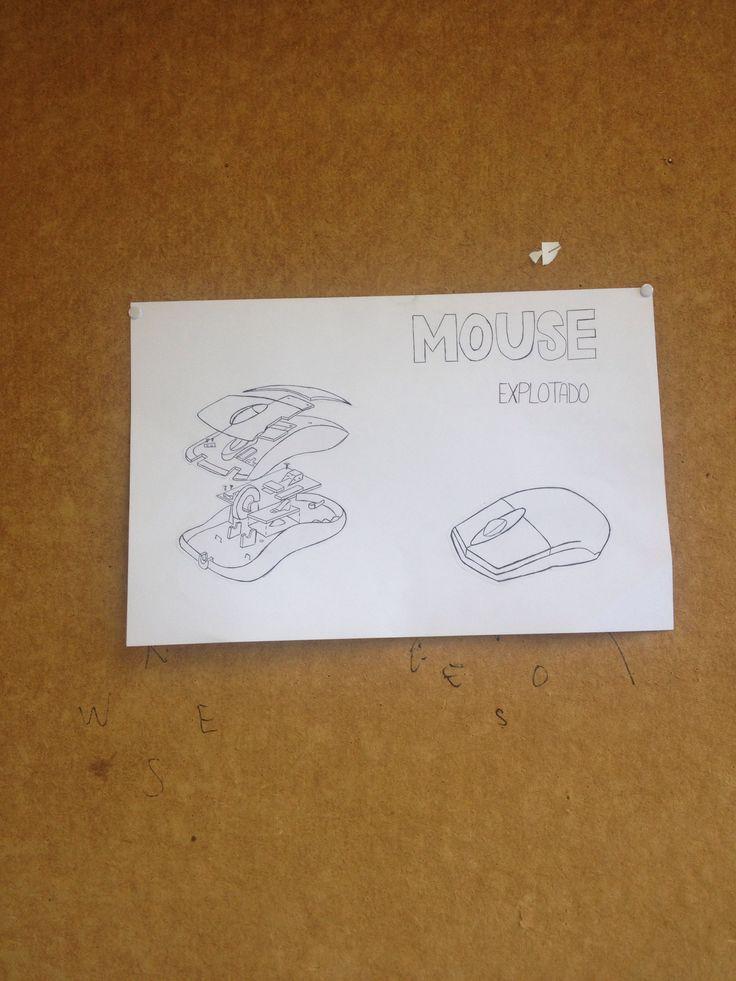 Explotado mouse