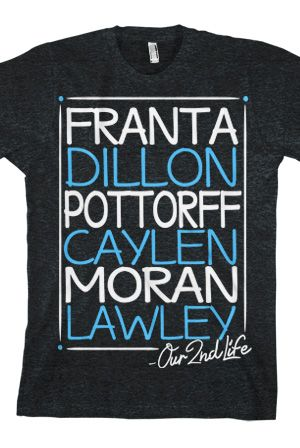 Our2ndLife (Black) - $24.99 - Hi, my name is Sidney and I am a YouTube addict. Specifically O2L. More specifically Connor Franta . . . ANYWAY I love love LOVE Our Second Life and want this shirt, even though it may or may not be a guy's shirt . . .
