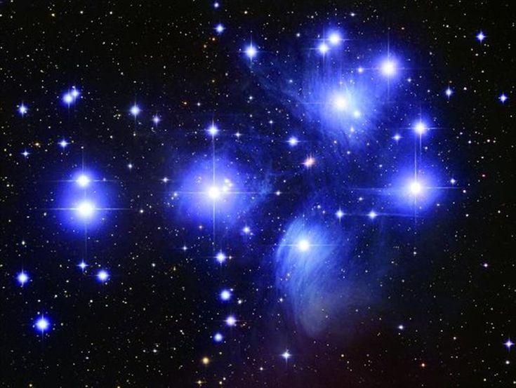 Matariki, the Pleiades star cluster