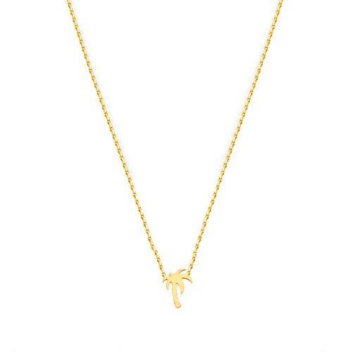 // Vergara Collection - Palm Tree Necklace - FLOR AMAZONA