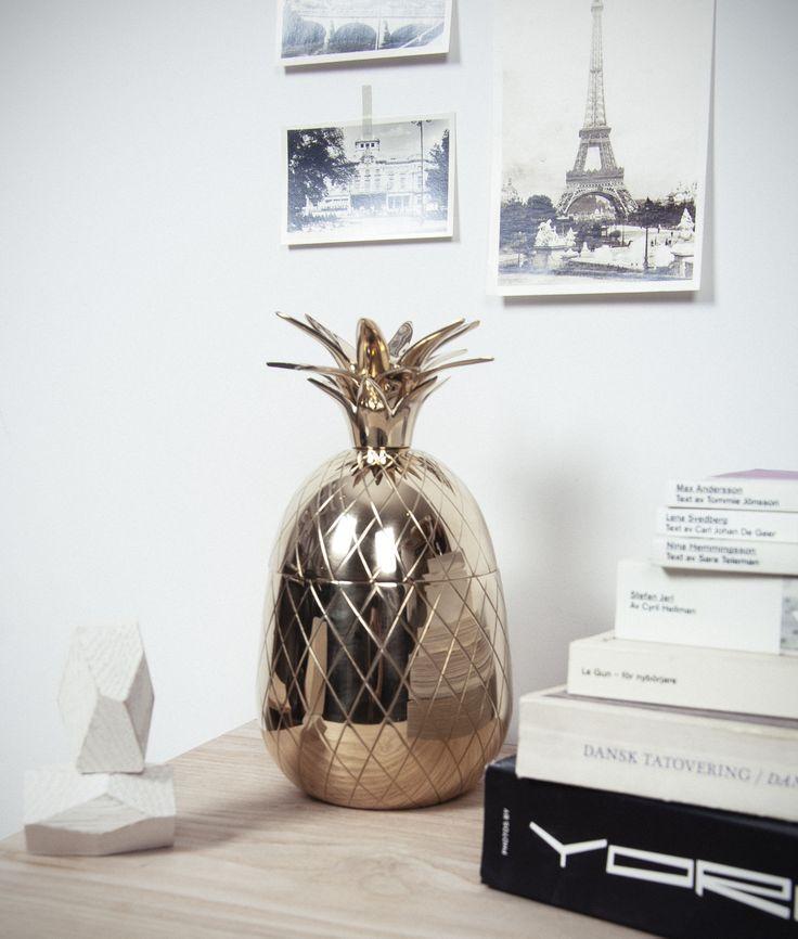 Brass pineapple. #sweden