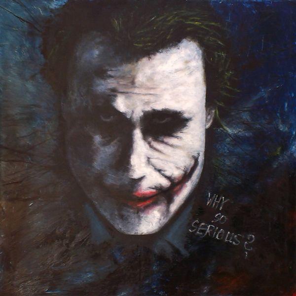 Joker Oilpainting