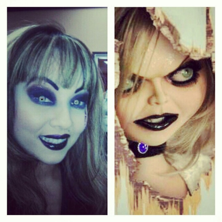 13 best tiff costume images on Pinterest | Bride of chucky, Bride ...