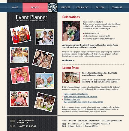 8 best Event Planner Website images on Pinterest Templates - event schedule template