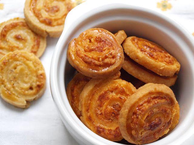 Notburga konyhája: Tekert sajtos