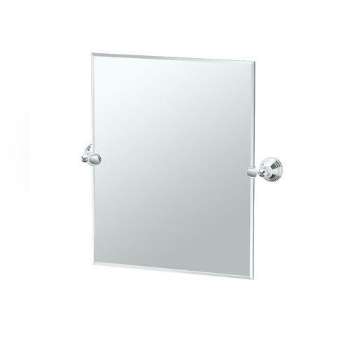 Charlotte Chrome Small Rectangle Mirror