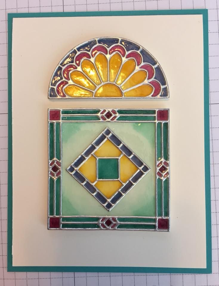 making stained glass windows video