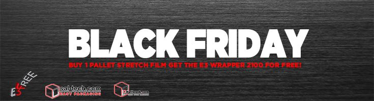 When we want to give, we go ballin'! GET YOUR FREE E3 WRAP MACHINE and get rid of your packaging problems! #E3Wrap2100forFREE #FREEPalletWrappingMachine #E3wrap43 #BlackFridayDeal #BlackFriday #FREE