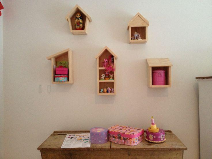 Childrens Minature Display Shelves.