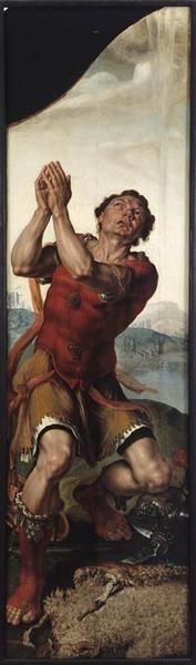 Gédéon et le miracle de la toison // 1550 // Maerten Jacobsz van Heemskerck // © Strasbourg, musée des beaux-arts // #Bible #OldTestament