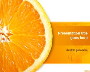 Orange Slice PowerPoint Template is a free fresh PowerPoint template for fruit food presentations and diet slide designs that you can download to prepare awesome slides in Microsoft PowerPoint 2010 and 2013