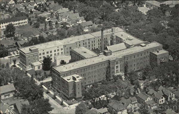 St. Nicholas Hospital and Anna M. Reiss Home for Aged Sheboygan Wisconsin