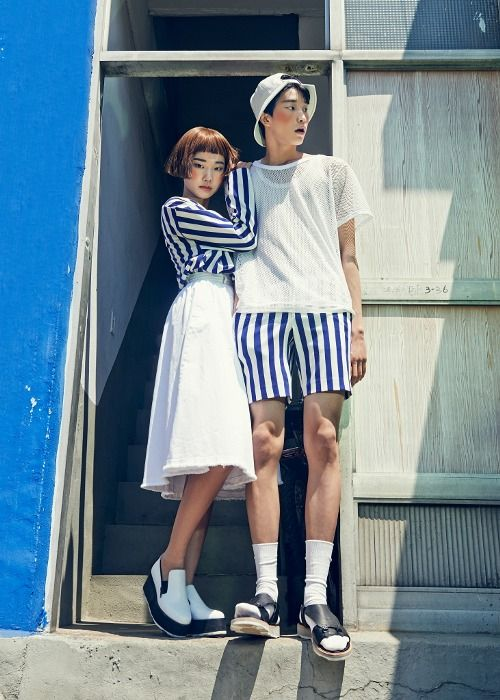 FABLAB editorial  photographer_KIMKI  visual director_GYEONG MIN  model_Han, Ji Min Ahn, Seoung Joon