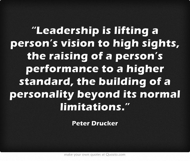 Leadership Vision Quotes: 34 Best Peter Drucker Images On Pinterest