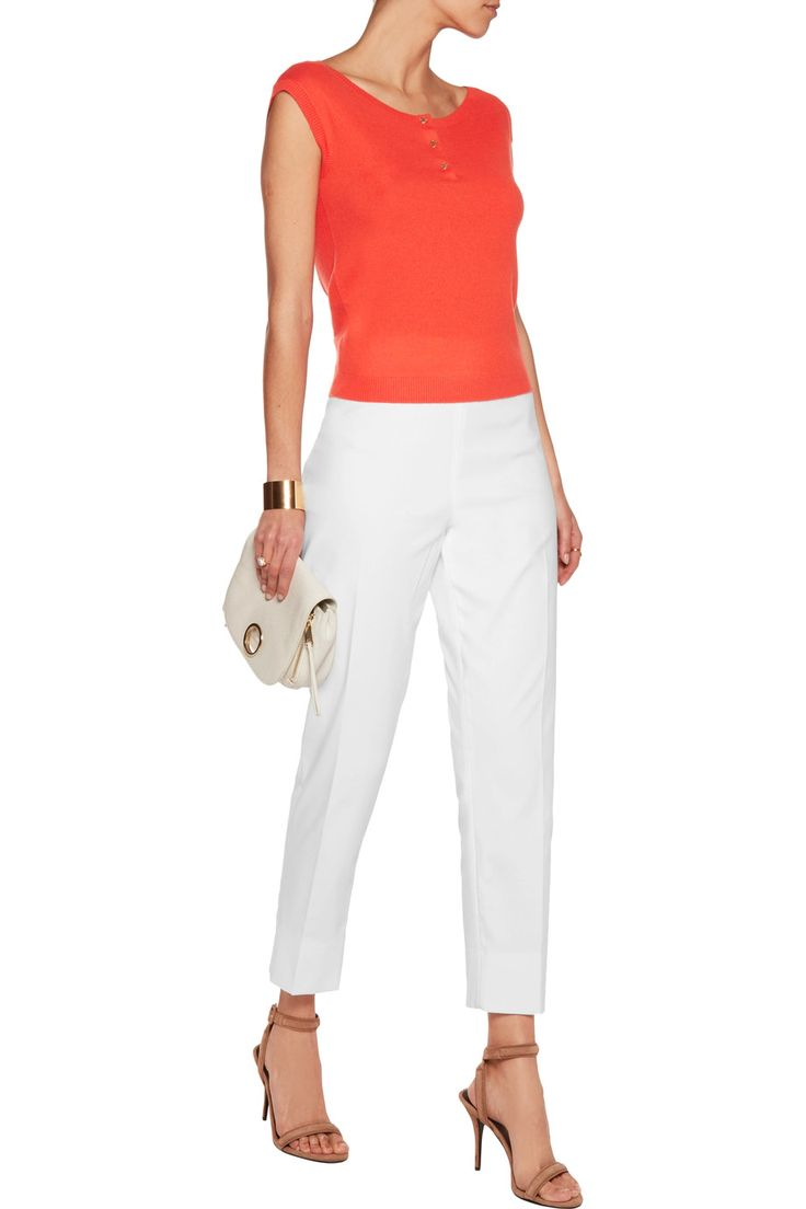 Shop on-sale Tory Burch Sydney cashmere-blend top. Browse other discount designer Tops & more on The Most Fashionable Fashion Outlet, THE OUTNET.COM
