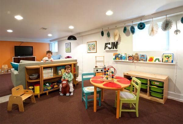 best 25 basement play area ideas on pinterest basement daycare ideas basement kids playrooms. Black Bedroom Furniture Sets. Home Design Ideas