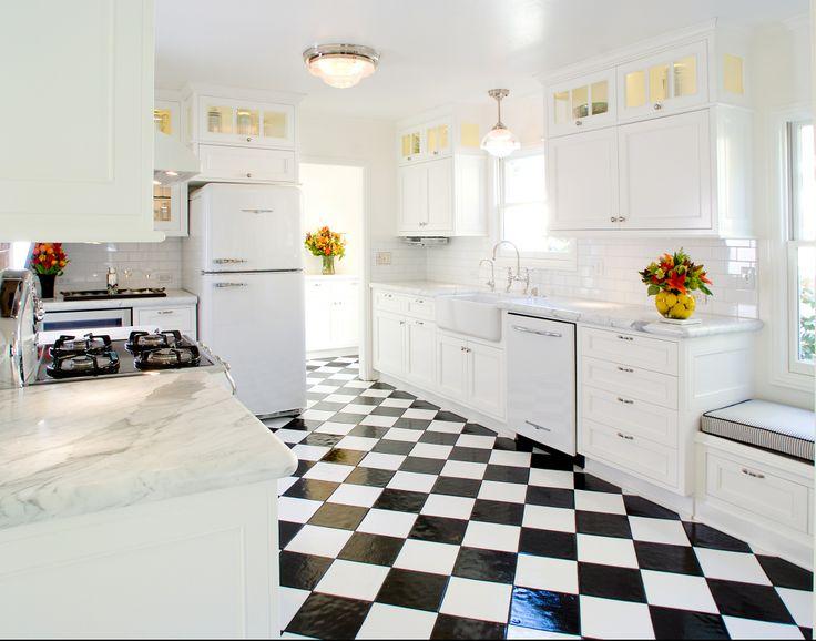 Retro Kitchen Flooring 45 best kitchen images on pinterest | kitchen, kitchen ideas and home