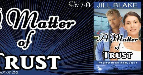 Release Tour    #Amazon #Kindle #New #Release #NewRelease #Contemporary #Romance #Suspense #RomanticSuspense #ContemporaryRomance #MoBPromos #amreading Title: A Matter of Trust  http://amzn.to/2fcaPLh Author: @Jill Blake Genre: Contemporary Romantic Suspense Release Date: November 7 2016  Hosted: (http://ift.tt/1QudXSK) @MoBPromos  Giveaway  http://ift.tt/2ehG5YH  Add the book to Goodreads  http://ift.tt/2fHl3Yq #BookLinks Amazon: http://amzn.to/2fcaPLh #Synopsis: Venture capitalist Vlad…