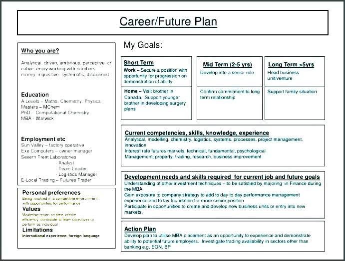 5 Year Plan High School Senior Template Google Search Career