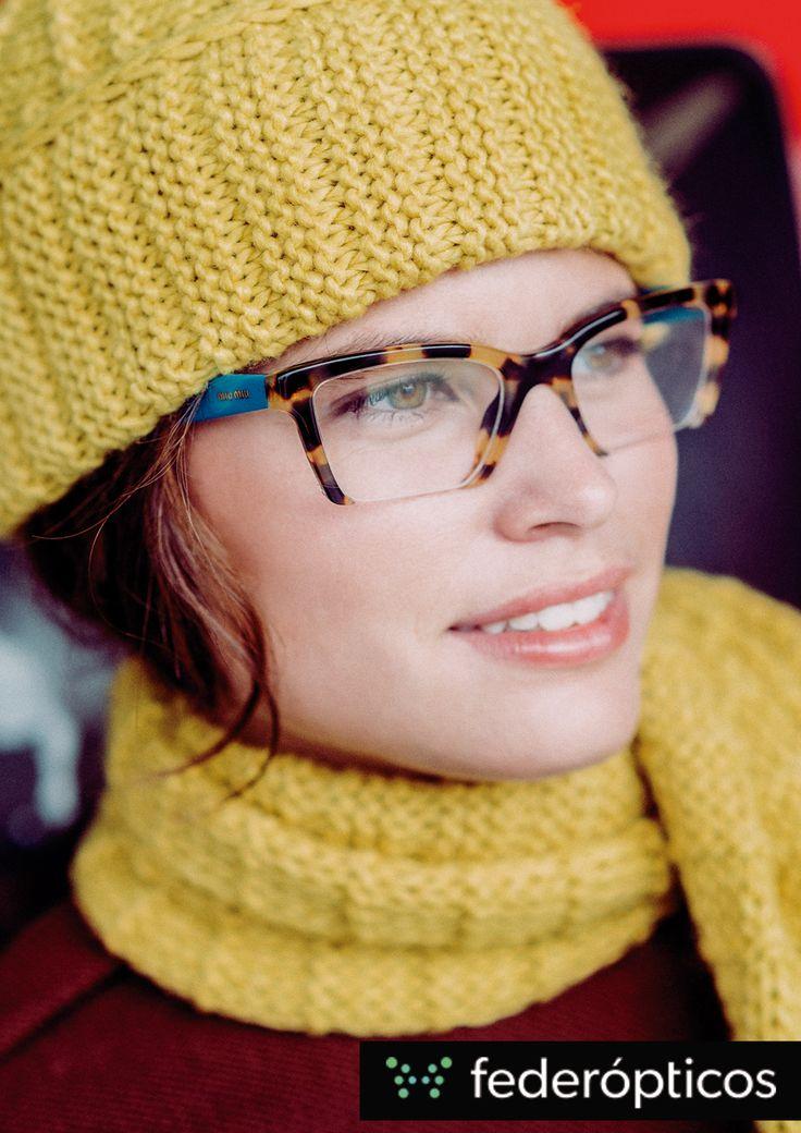 Print eyewear  #MiuMiu #eyewear #moda #federopticos #tendencias