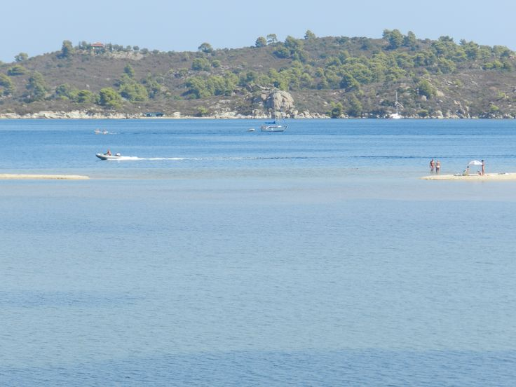 Greece, Sithonia, Livari beach