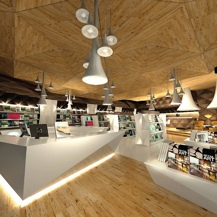 The story unfolds is a creative retail space that allows for Retail store layout design free
