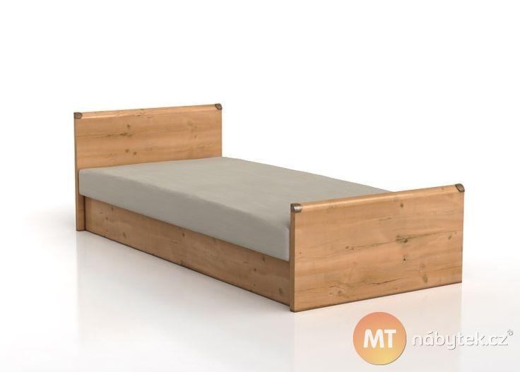 Usněte na pohodlné jednolůžkové posteli Forge 1. Díky úložnému prostoru budete mít ložní prádlo každý večer po ruce a váš pokoj zkrášlí zdobeným kováním.