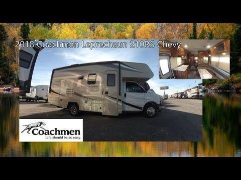 NEW 2018 Coachmen Leprechaun 210RS Chevy   Mount Comfort RV