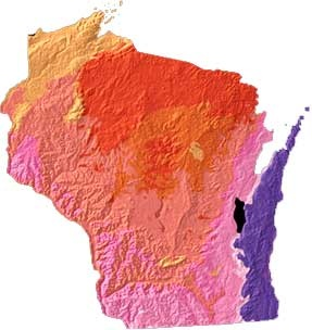 """What does Wisconsin mean? The name is based on the Chippewa Indian word Ouisconsin, believed to mean """"grassy place."""" Wisconsin became the 30th state on May 29, 1848."""