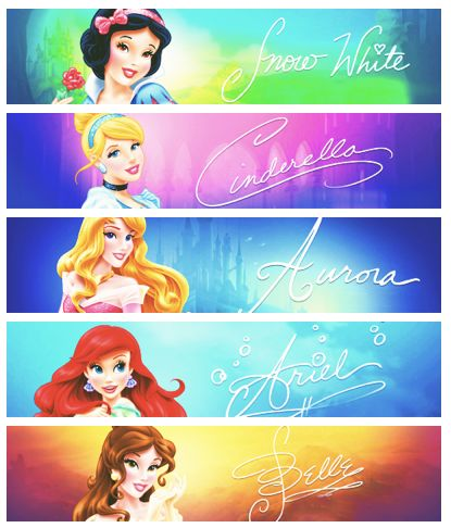 Disney princesses revamps. Seriously, Ariel is the best transformation. She looks significantly better in her new green dress with seashell jewelry than she did in that horrid pink dress. Belle looks really pretty too! But as far as all the others go....boo!
