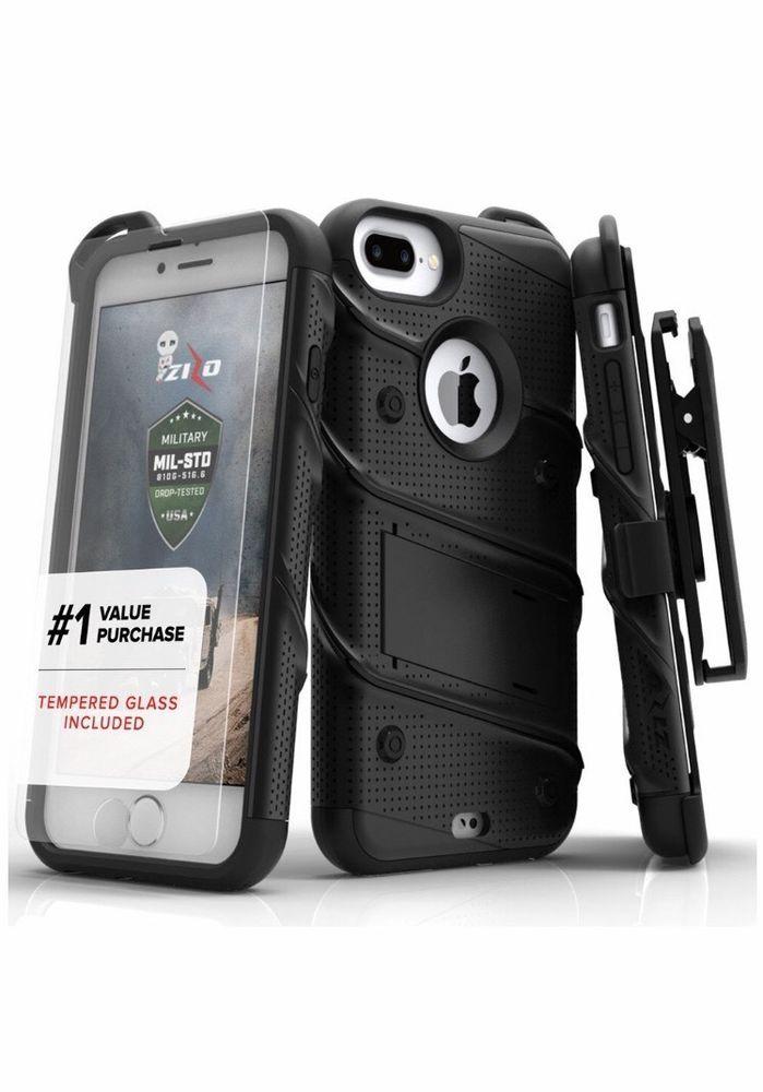 iPhone 7 Plus Case Screen Protector Military Grade Drop ...